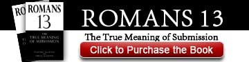 Romans 13: The True Meaning of Submission